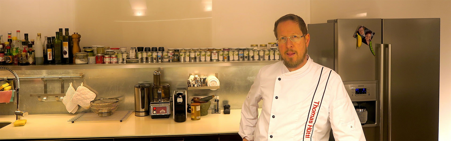 Gesunde Küche: Interview mit Thomas Hüttl,