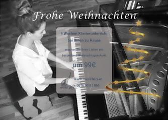 Weihnachtsaktion Klavierunterricht