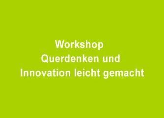 Querdenken und Innovation leicht gemacht - Wien