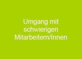 Umgang mit schwierigen Mitarbeitern - Deutschland