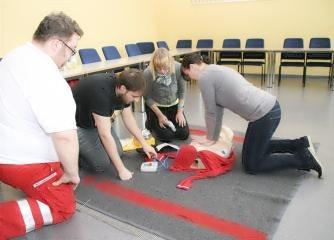 Erste Hilfe Auffrischungskurs (8 Stunden) - Wiener Rotes Kreuz