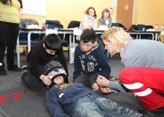 Erste Hilfe bei Säuglings- und Kindernotfällen - Auffrischungskurs - Wiener Rotes Kreuz