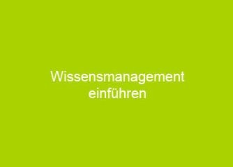 Smart Knowledgemanagement einführen - Wien