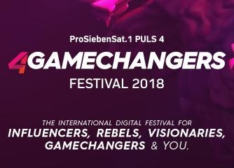 4GAMECHANGERS FESTIVAL 2018 – KOMBITICKET (3 TAGE)