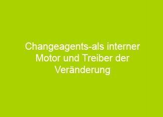 Changeagents- als interner Motor und Treiber der Veränderung - Wien