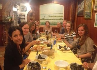 Italienisch, Küche und Wein