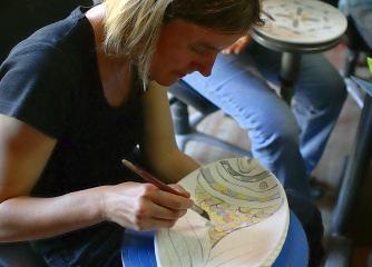 Italienisch und Kunstworkshop