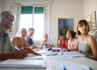 Italienischer Sprachkurs für Senioren in Viareggio, Toskana