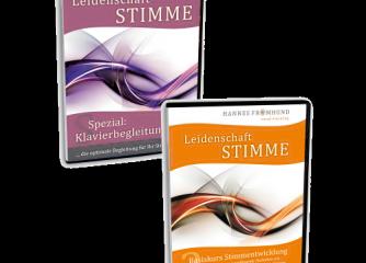 Stimmbildung-Set (CD Basiskurs + Klavierbegleitungs-CD)
