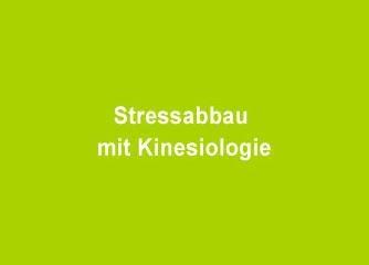 Stressabbau mit Kinesiologie - Wien