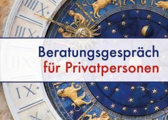 Astrologische Beratung für Privatpersonen (Horoskop)