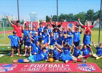 Fußballcamp - Wien Kaisermühlen  (7-14 Jahre)