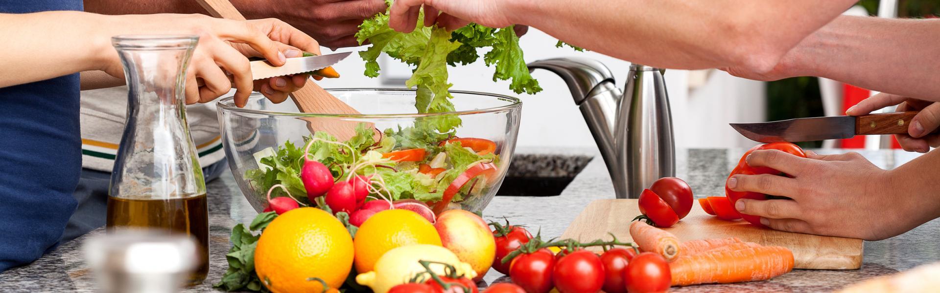 Kochkurse für Studenten